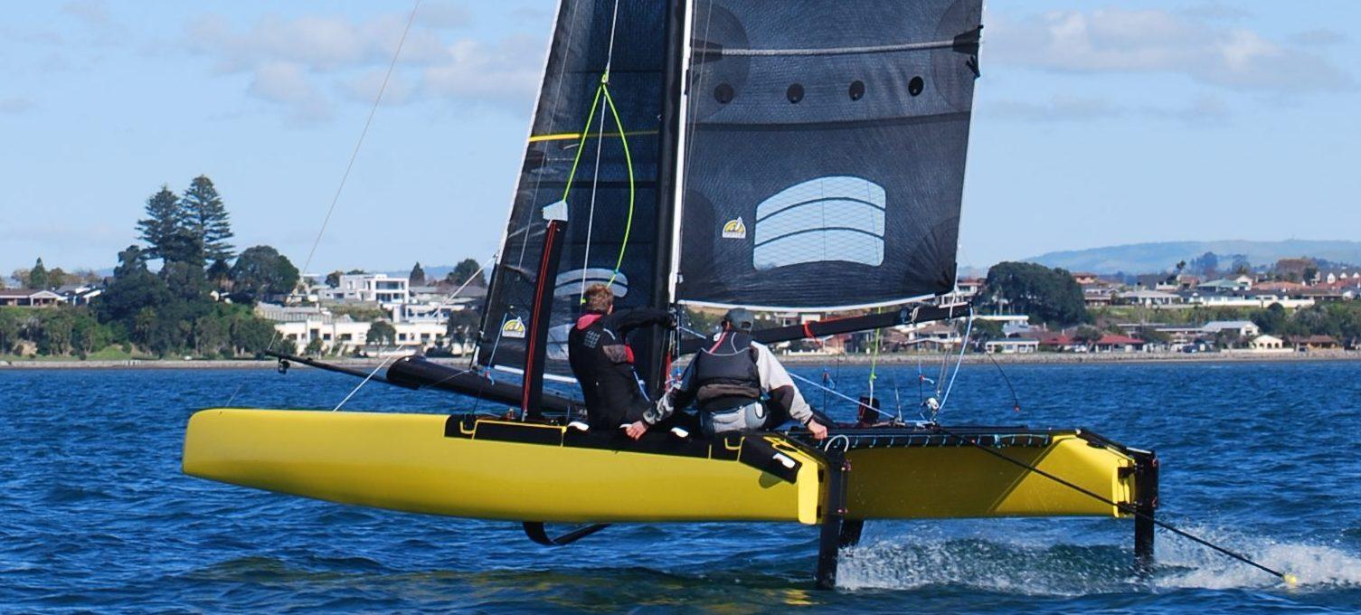"""H20"" Hydro-foiling Catamaran"