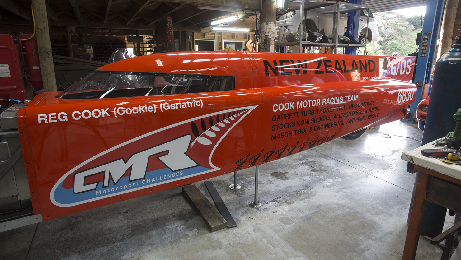 Bonnieville Streamliner  Design and Fabrication
